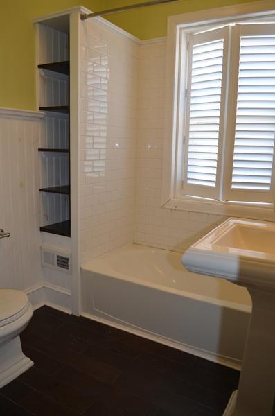 Real Estate Photography - 604 Harrington St, Wilmington, DE, 19805 - 2nd Floor Full Bathroom