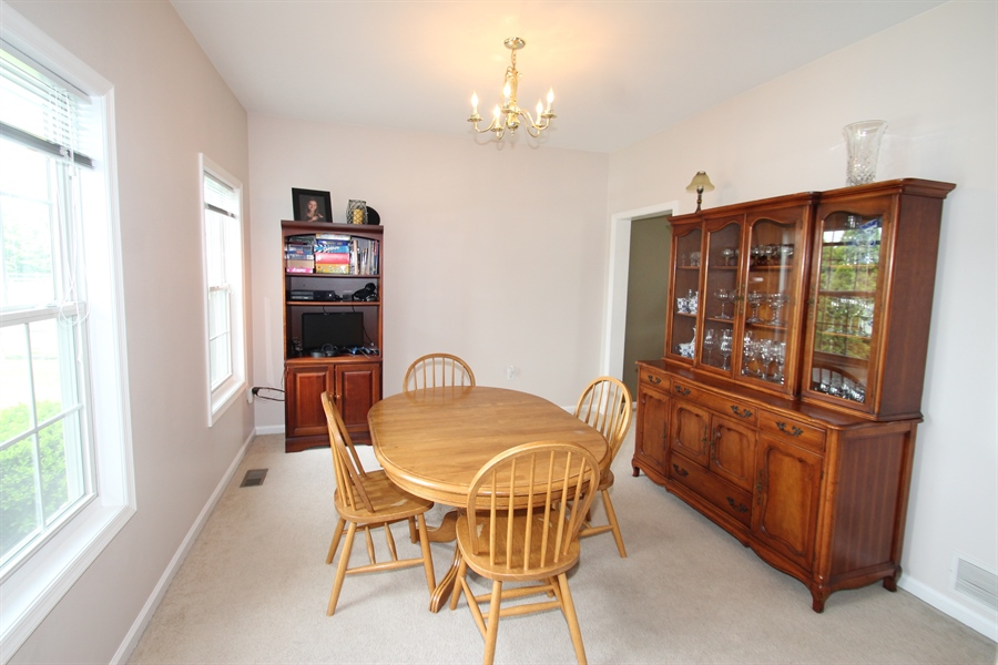 Real Estate Photography - 302 Red Cedar Ln, Bear, DE, 19701 - Dining Room