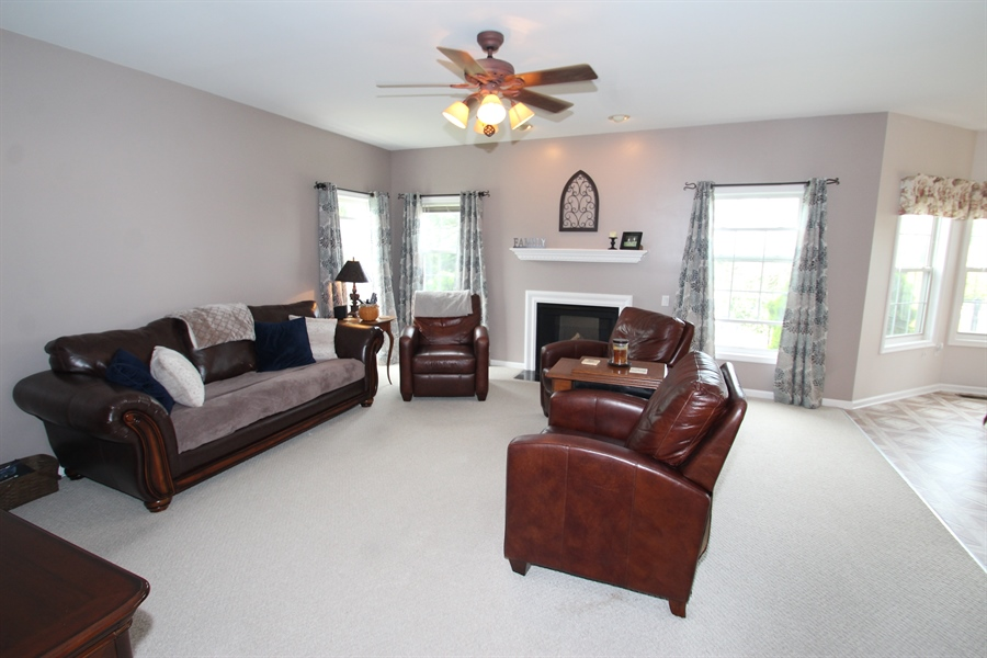 Real Estate Photography - 302 Red Cedar Ln, Bear, DE, 19701 - Family Room