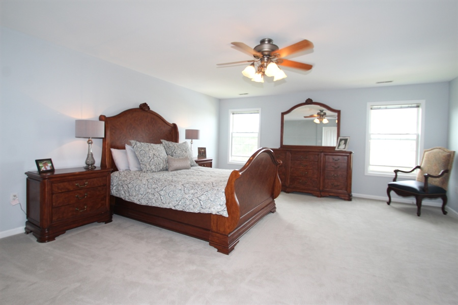 Real Estate Photography - 302 Red Cedar Ln, Bear, DE, 19701 - Master Bedroom