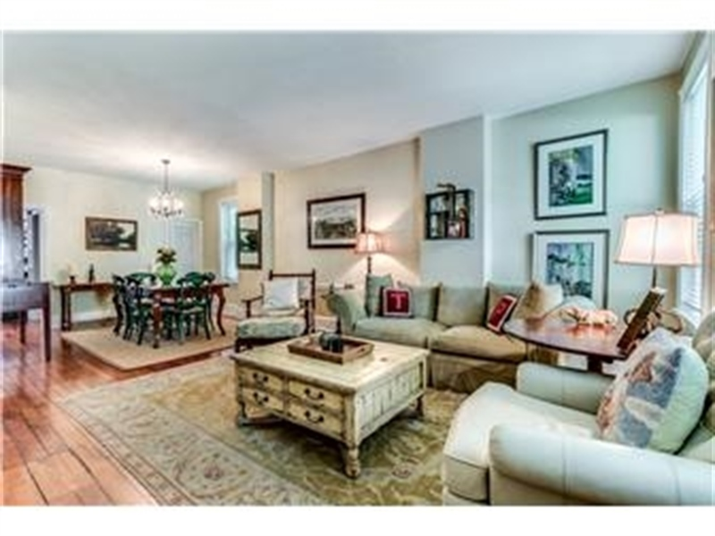 Real Estate Photography - 1524 Clinton St, Wilmington, DE, 19806 - Living Room with 9ft Ceilings