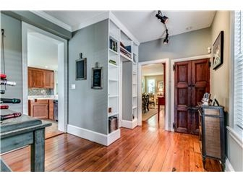 Real Estate Photography - 1524 Clinton St, Wilmington, DE, 19806 - Office with Powder Room