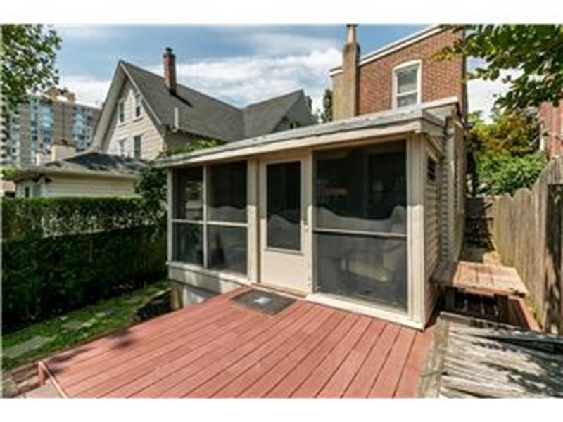 Real Estate Photography - 1524 Clinton St, Wilmington, DE, 19806 - Deck off Porch