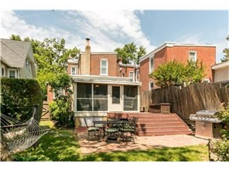Real Estate Photography - 1524 Clinton St, Wilmington, DE, 19806 - Rear View of Home