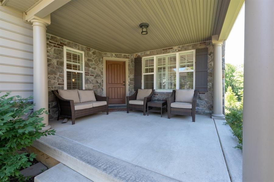 Real Estate Photography - 515 Giada Drive, Wilmington, DE, 19808-1430 - Relaxing front porch