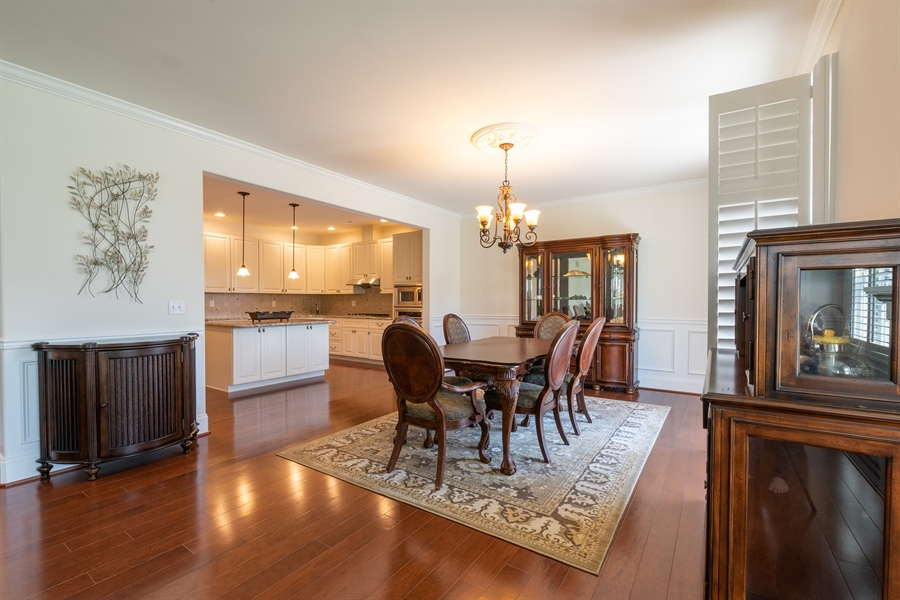 Real Estate Photography - 515 Giada Drive, Wilmington, DE, 19808-1430 - Dining area adjacent to kitchen