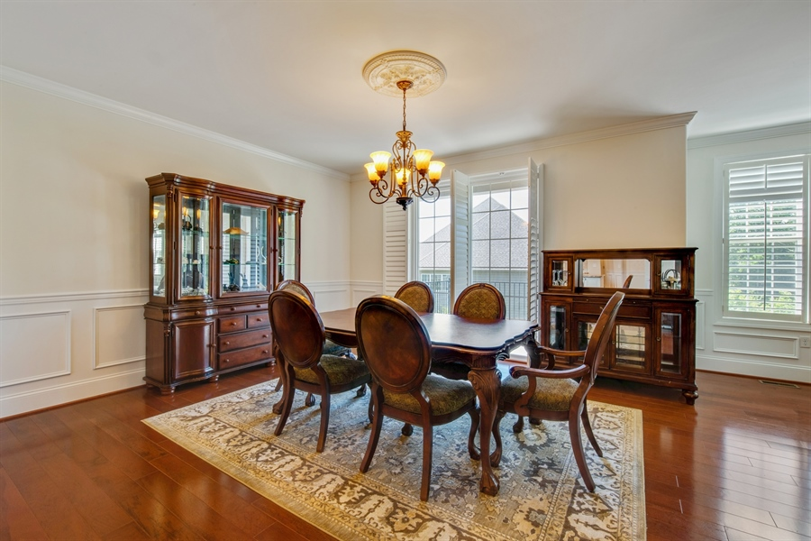 Real Estate Photography - 515 Giada Drive, Wilmington, DE, 19808-1430 - Dining area with views to outside