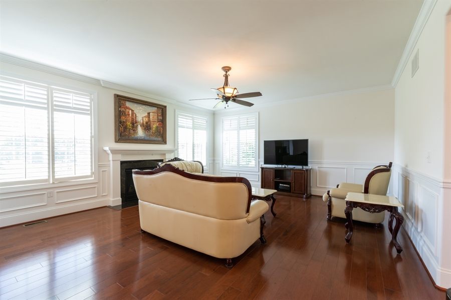 Real Estate Photography - 515 Giada Drive, Wilmington, DE, 19808-1430 - Great room with gas fireplace