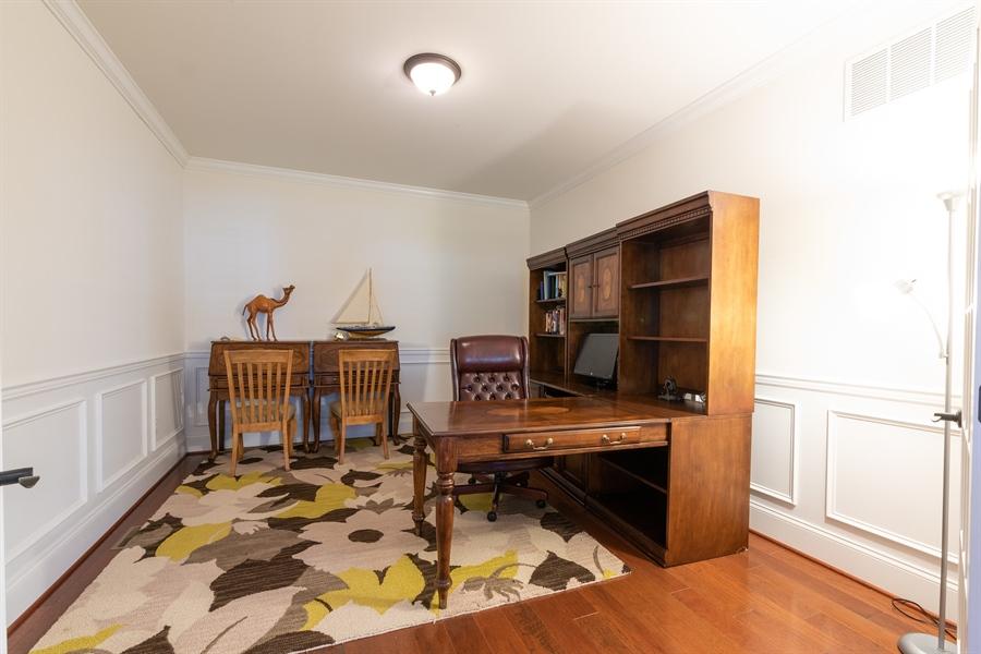 Real Estate Photography - 515 Giada Drive, Wilmington, DE, 19808-1430 - Private main floor office