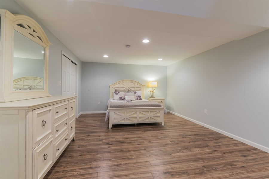 Real Estate Photography - 515 Giada Drive, Wilmington, DE, 19808-1430 - Lower level guest room
