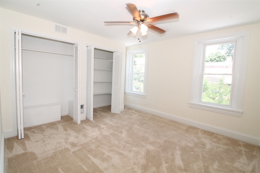 Real Estate Photography - 218 W 17th St, Wilmington, DE, 19802 - Master Bedroom - lots of closet space!