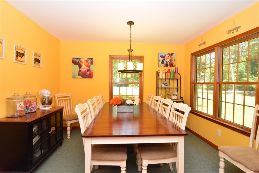 Real Estate Photography - 2 Whispering Woods Dr, Georgetown, DE, 19947 - Dining Area off Kitchen