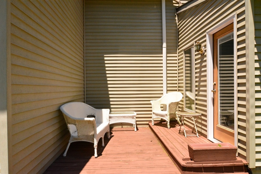 Real Estate Photography - 2 Whispering Woods Dr, Georgetown, DE, 19947 - Rear Patio