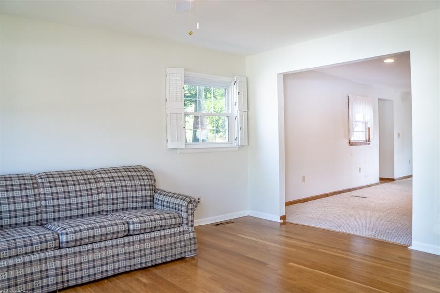 Real Estate Photography - 108 Rolling Dr, Newark, DE, 19713 - Living Room, 16 x 13, beautiful hardwood floors
