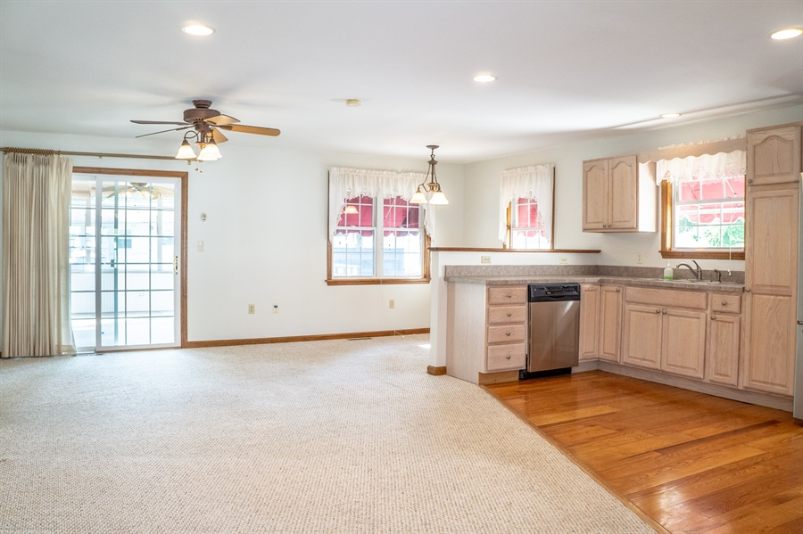 Real Estate Photography - 108 Rolling Dr, Newark, DE, 19713 - Open floor plan thanks to an addition in 2009