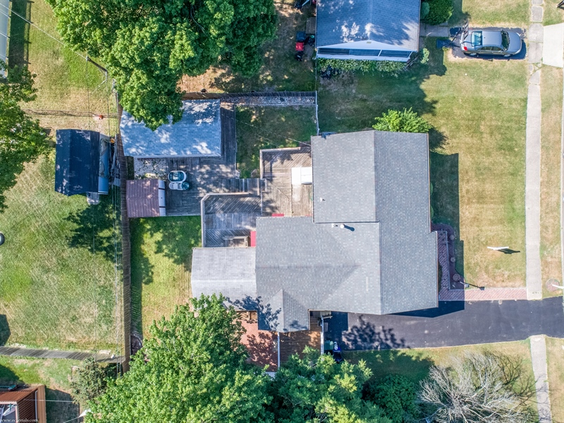 Real Estate Photography - 108 Rolling Dr, Newark, DE, 19713 - View from above