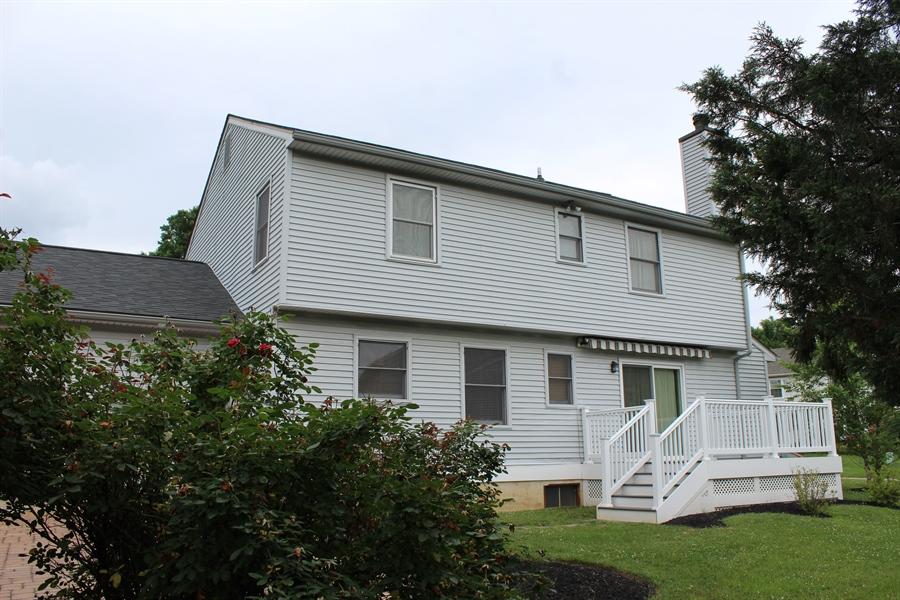 Real Estate Photography - 37 Danvers Cir, Newark, DE, 19702 - Rear of home
