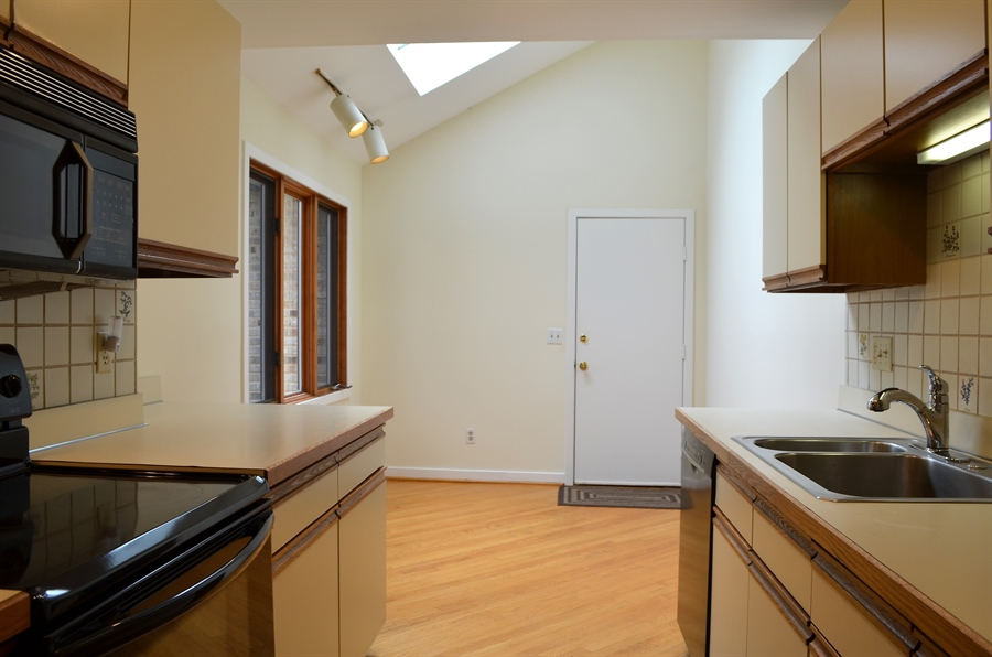 Real Estate Photography - 9 Steeplechase Rd, Wilmington, DE, 19808 - Eat-In Kitchen w New Skylights