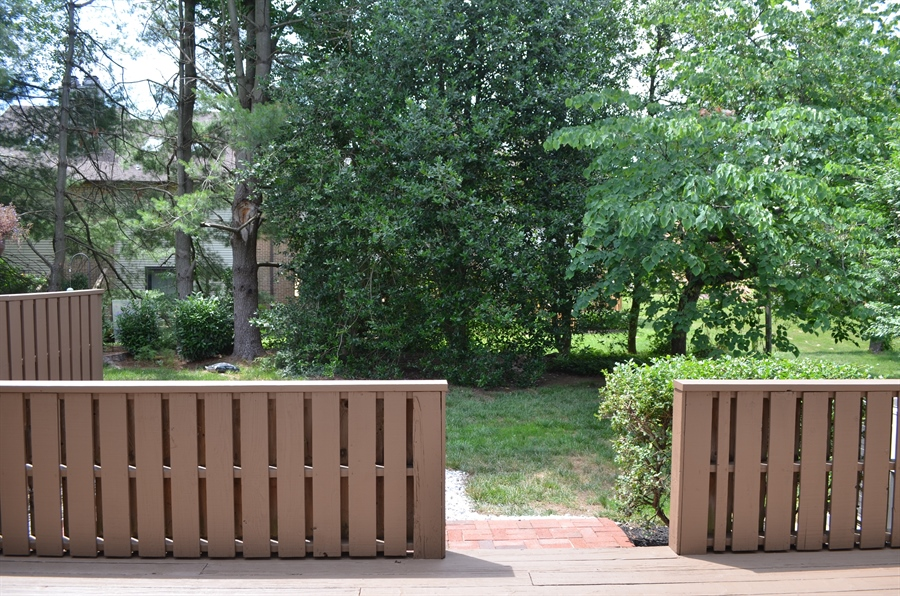 Real Estate Photography - 9 Steeplechase Rd, Wilmington, DE, 19808 - Relaxing Deck area