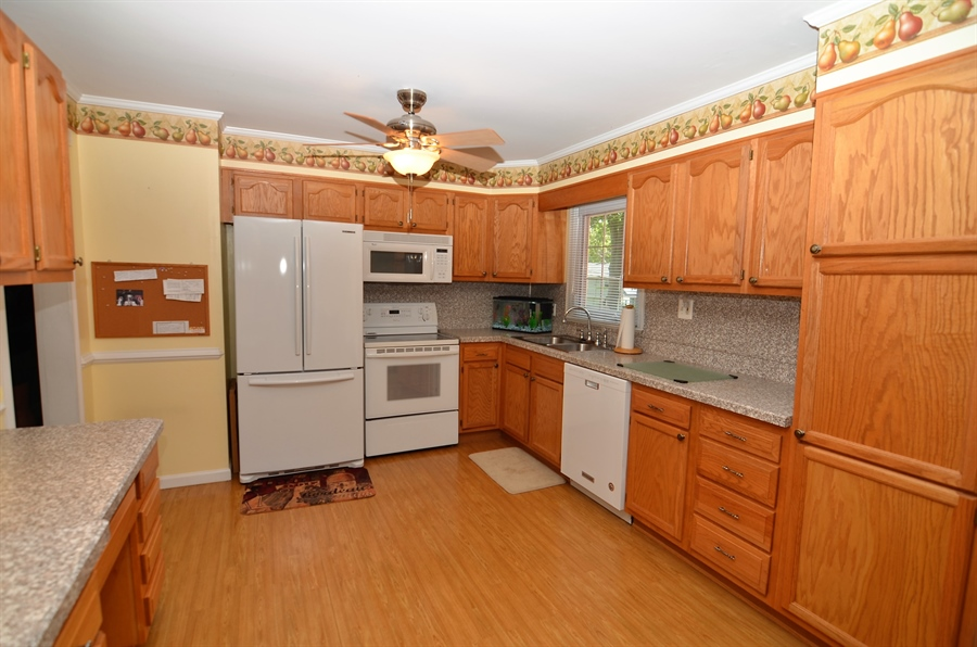 Real Estate Photography - 2210 Lancashire Dr, Wilmington, DE, 19810 - Updated Kitchen