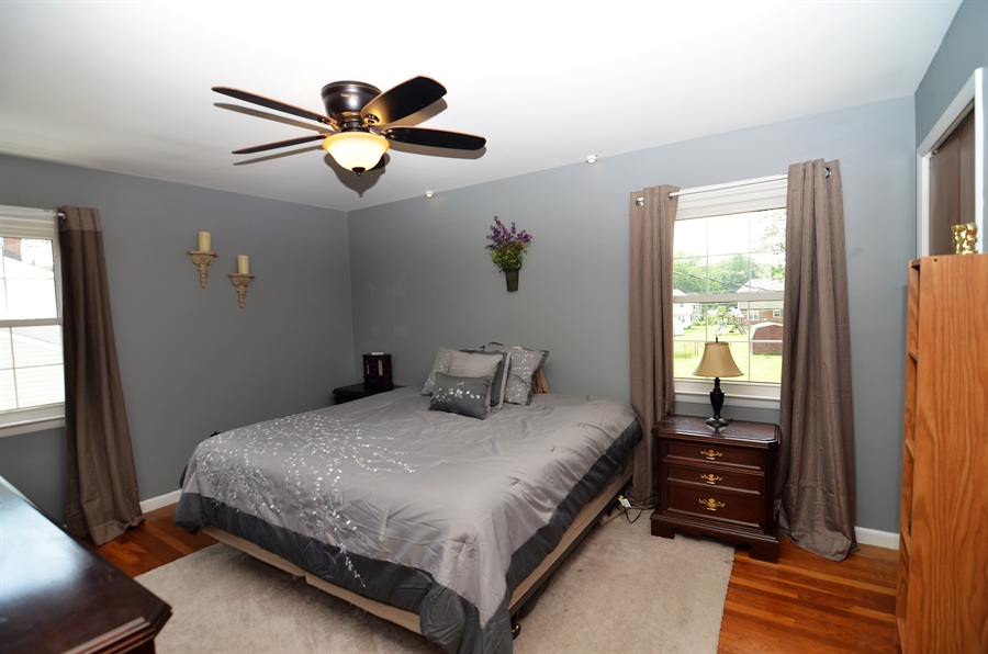 Real Estate Photography - 2210 Lancashire Dr, Wilmington, DE, 19810 - Master Bedroom