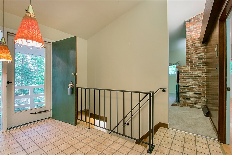 Real Estate Photography - 40 Indian Field Rd, Wilmington, DE, 19810 - Foyer with Tile Flooring