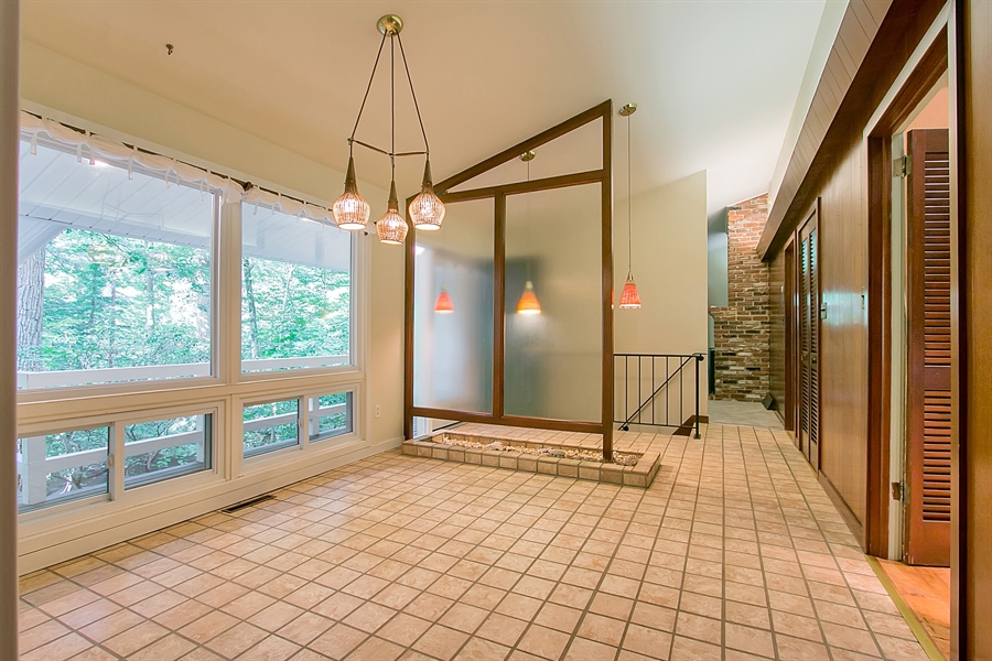 Real Estate Photography - 40 Indian Field Rd, Wilmington, DE, 19810 - Dining Room with Tile Flooring