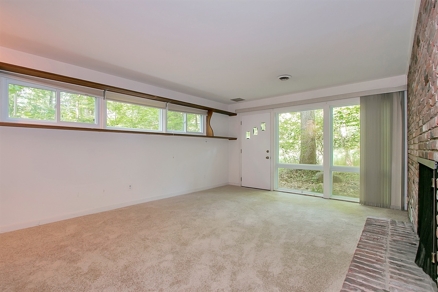Real Estate Photography - 40 Indian Field Rd, Wilmington, DE, 19810 - Fourth Bedroom with Outside Entrance