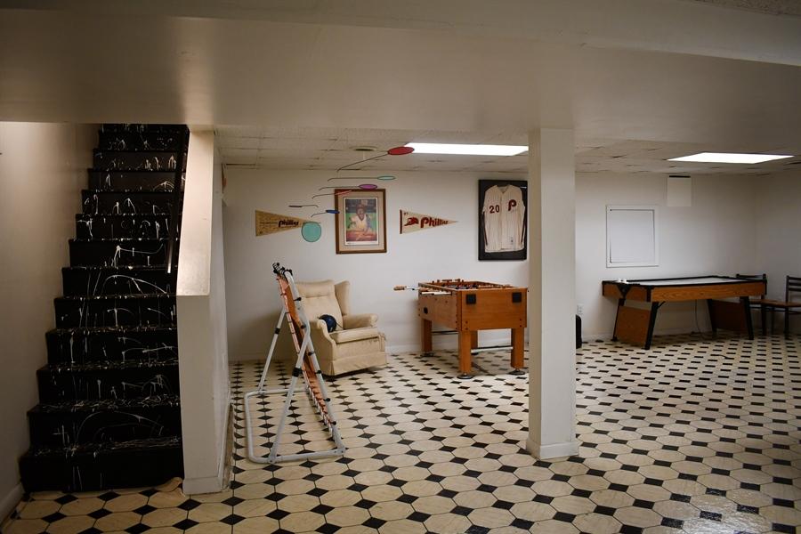 Real Estate Photography - 28 Morning Glen Ln, Newark, DE, 19711 - Partially finished basement