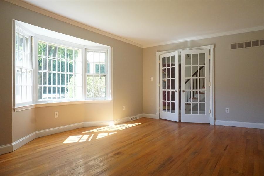 Real Estate Photography - 331 Ware Rd, Newark, DE, 19711 - LR W/bay Window & French Doors