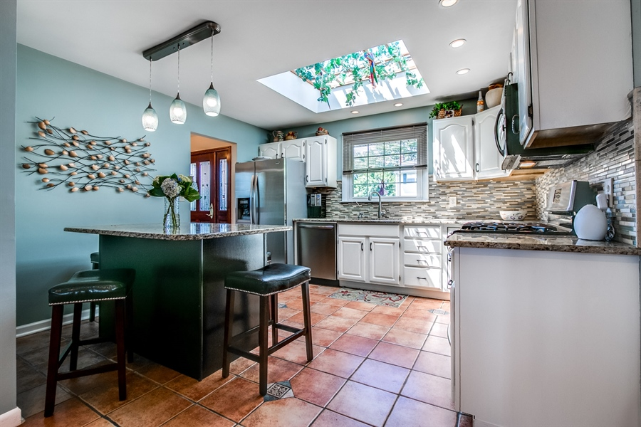 Real Estate Photography - 5 Wheatfield Dr, Wilmington, DE, 19810 - Kitchen with skylight