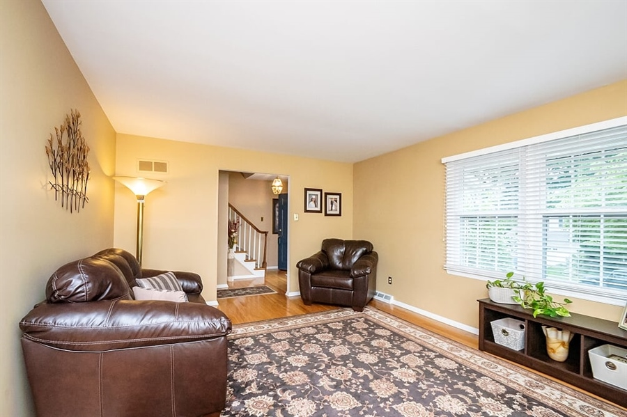 Real Estate Photography - 2319 Empire Dr, Wilmington, DE, 19810 - Living Room with hardwood floors