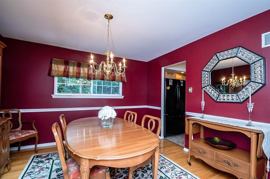 Real Estate Photography - 2319 Empire Dr, Wilmington, DE, 19810 - Formal Dining Room with hardwood floors