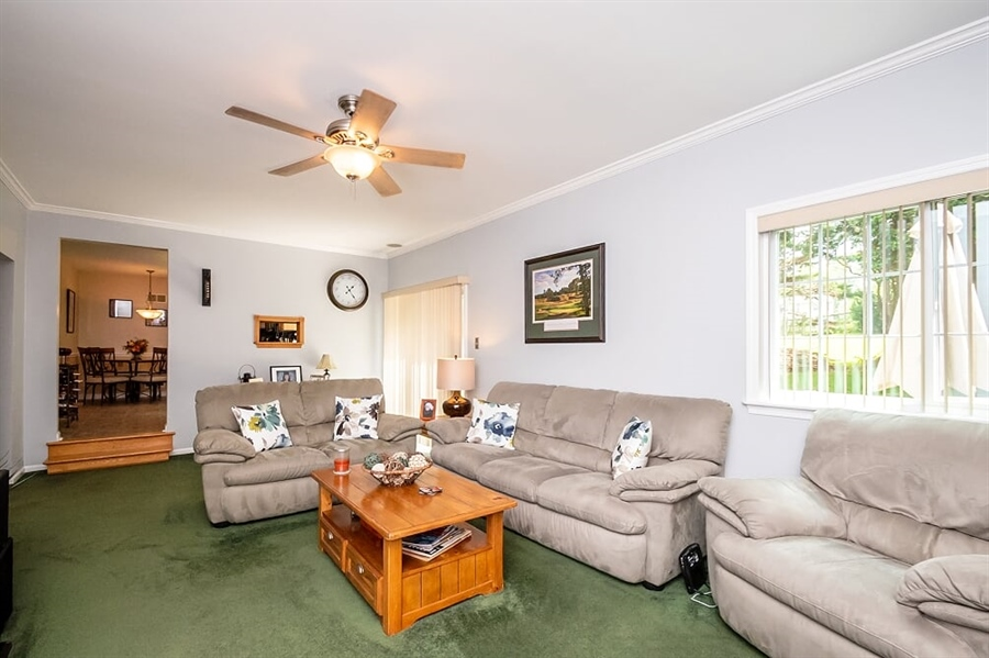 Real Estate Photography - 2319 Empire Dr, Wilmington, DE, 19810 - Another view of large family room