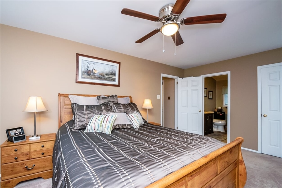Real Estate Photography - 2319 Empire Dr, Wilmington, DE, 19810 - Master Bedroom