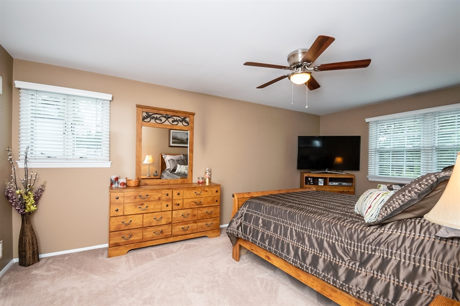 Real Estate Photography - 2319 Empire Dr, Wilmington, DE, 19810 - Another view of Master Bedroom