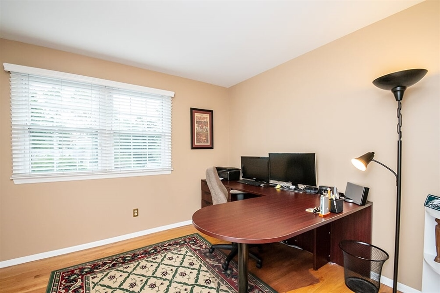 Real Estate Photography - 2319 Empire Dr, Wilmington, DE, 19810 - Fourth Bedroom currently used as an office