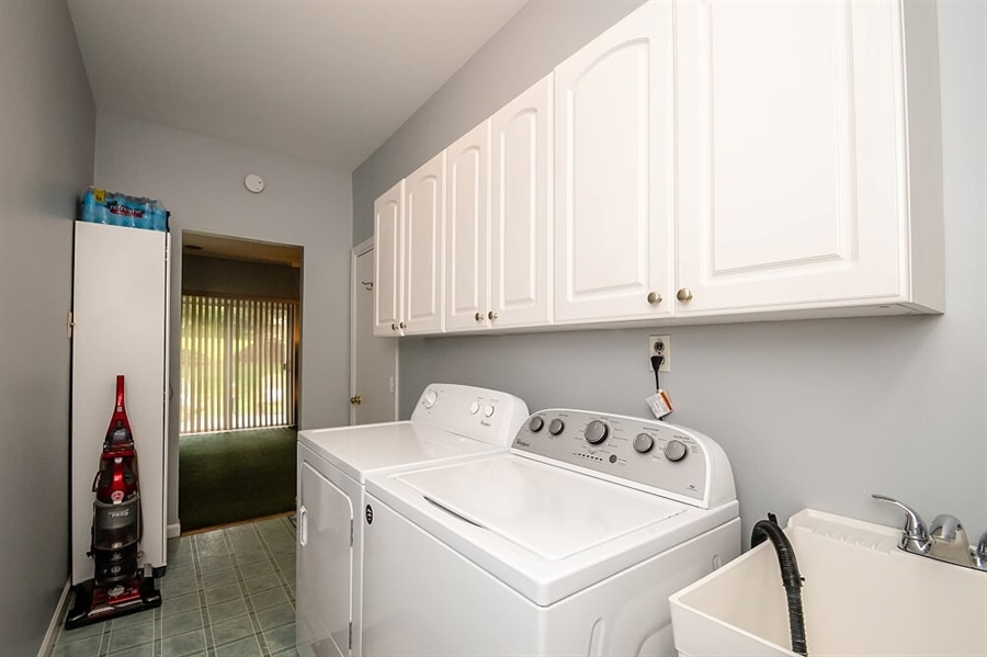 Real Estate Photography - 2319 Empire Dr, Wilmington, DE, 19810 - First floor laundry room