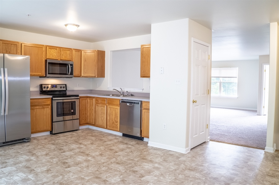 Real Estate Photography - 137 Ben Blvd, Elkton, DE, 21921 - All NEW stainless Whirlpool appliances