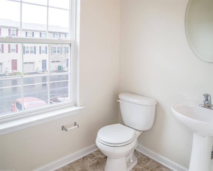 Real Estate Photography - 137 Ben Blvd, Elkton, DE, 21921 - Main level Powder Room
