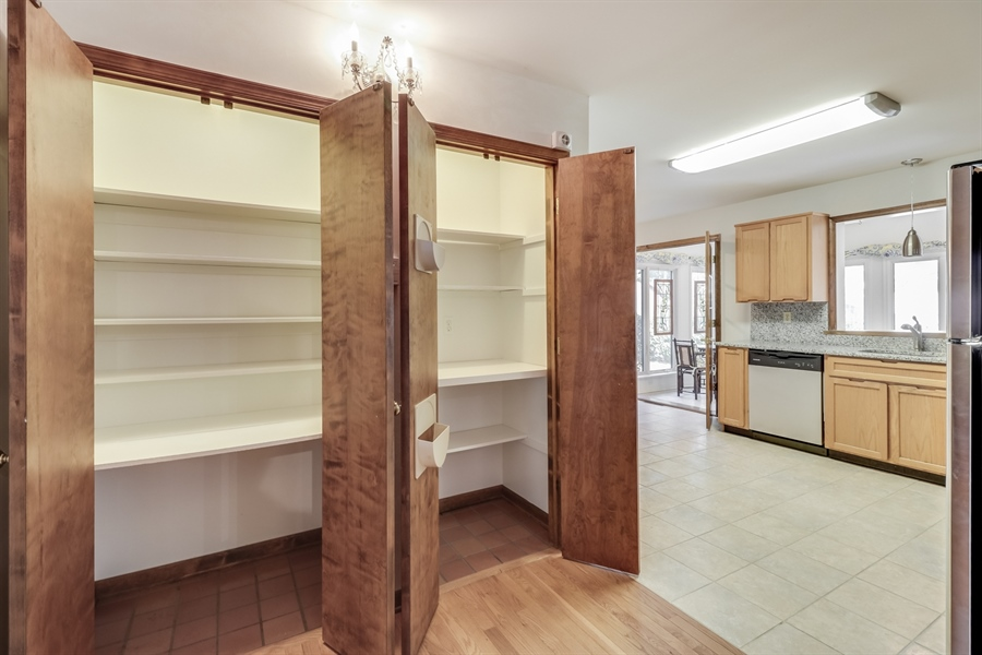 Real Estate Photography - 235 Pine Valley Rd, Dover, DE, 19904 - 2 of three pantry's for all the storage you need