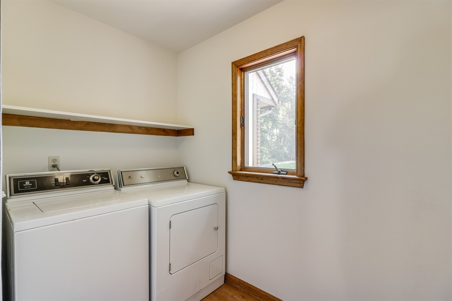 Real Estate Photography - 235 Pine Valley Rd, Dover, DE, 19904 - Laundry room