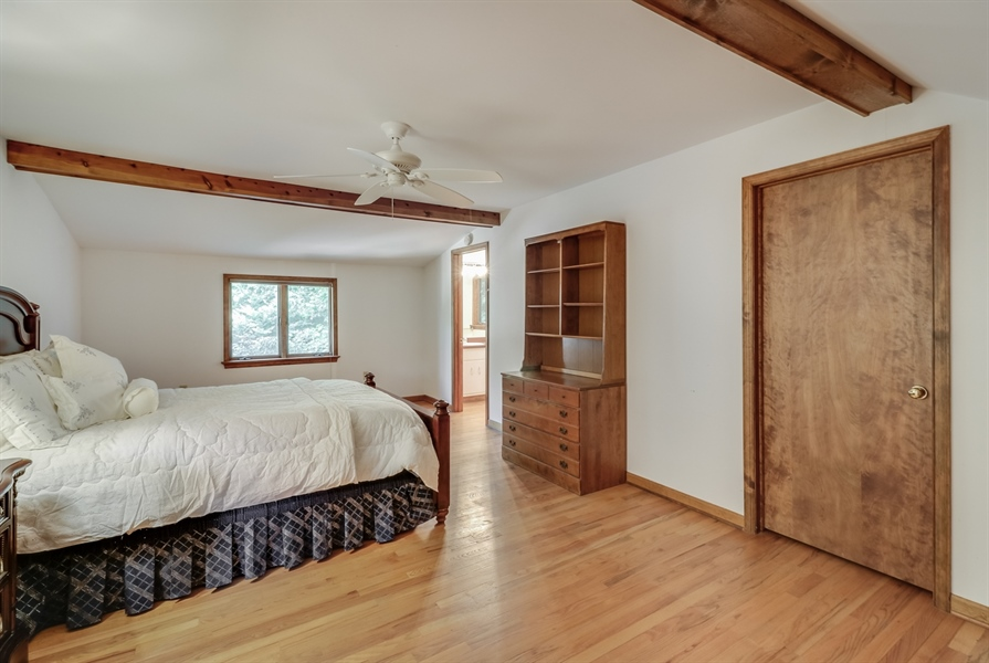 Real Estate Photography - 235 Pine Valley Rd, Dover, DE, 19904 - Main bedroom with walk in closet and private bath