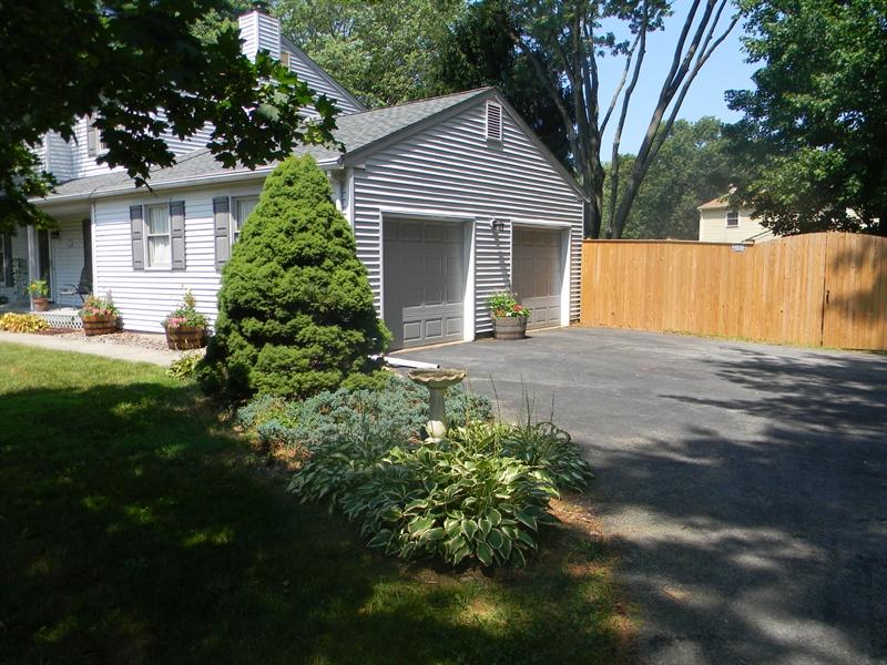 Real Estate Photography - 112 Kirkcaldy Dr, Elkton, MD, 21921 - 2 Car turned garage, fenced back yard
