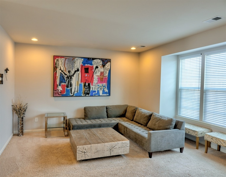 Real Estate Photography - 1320 Madison Lane, Hockessin, DE, 19707 - Expanded Living Room