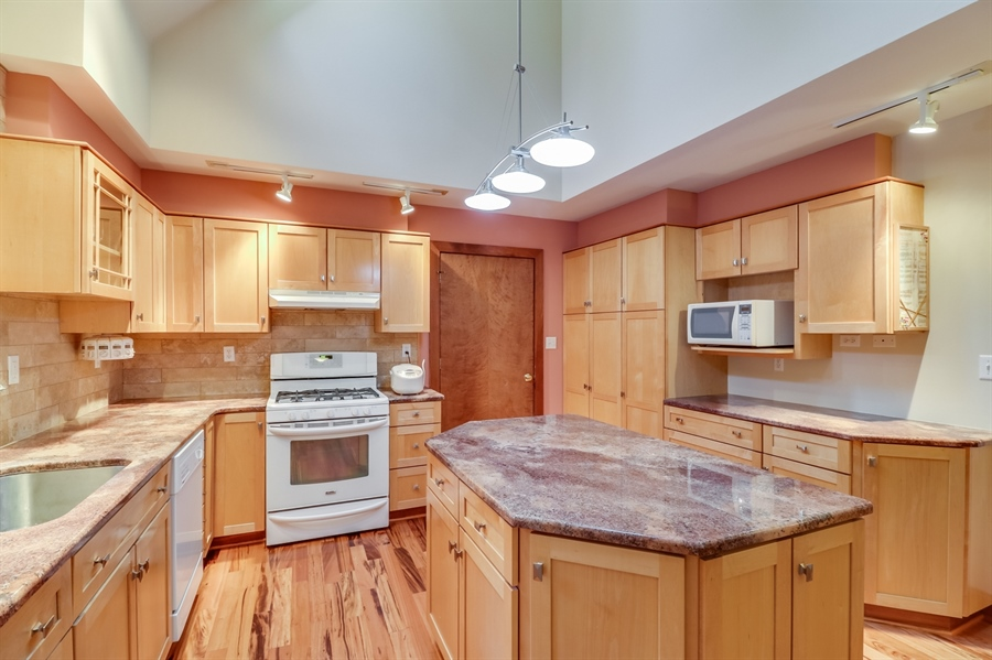 Real Estate Photography - 181 Proctors Purchase Rd, Hartly, DE, 19953 - Granite countertops