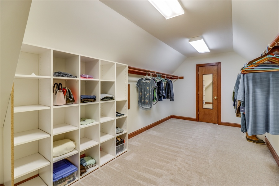 Real Estate Photography - 181 Proctors Purchase Rd, Hartly, DE, 19953 - Large walk-in closet