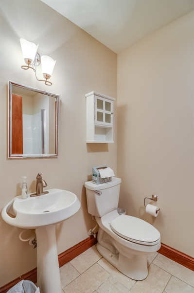 Real Estate Photography - 181 Proctors Purchase Rd, Hartly, DE, 19953 - Full bathroom with a stall shower on 1st floor