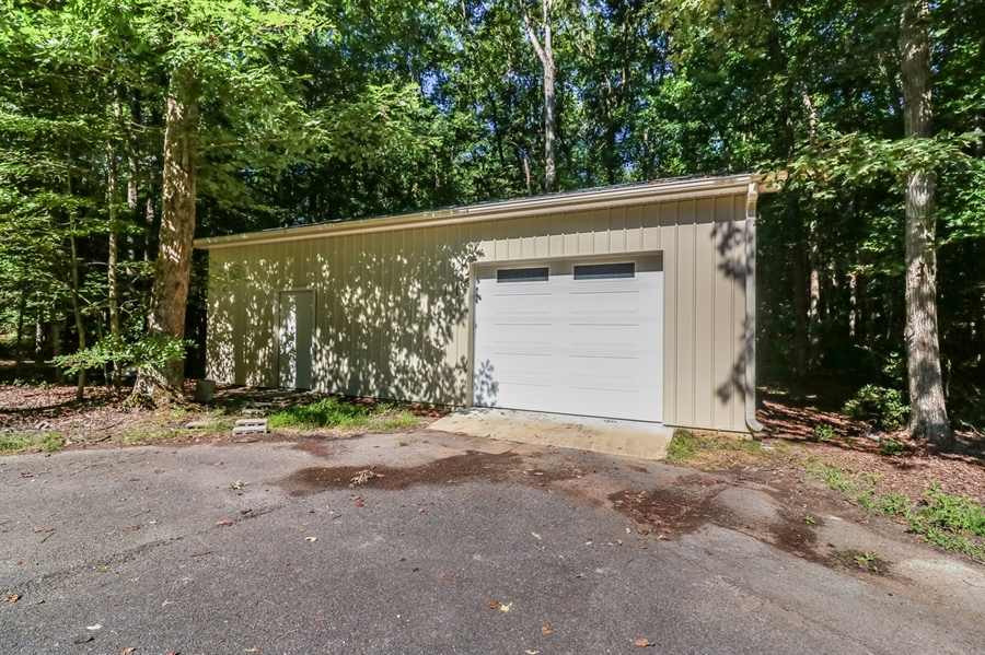 Real Estate Photography - 181 Proctors Purchase Rd, Hartly, DE, 19953 - 24x36 outbuilding w/2 workshops