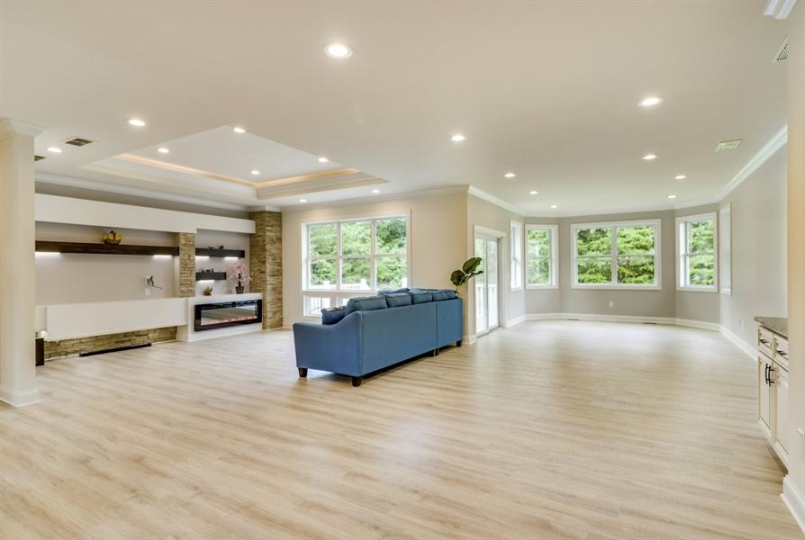 Real Estate Photography - 28459 Cedar Ridge Dr, Millsboro, DE, 19966 - Open & Spacious Floor Plan